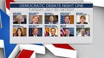 Lineups are set for next 2020 Democratic debates