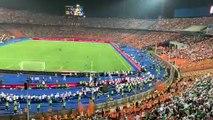 Supporters algériens au stade