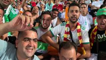 Supporters algeriens en finale