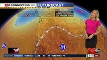 Kern County is feeling below seasonal temperatures this weekend before a big warm up next week