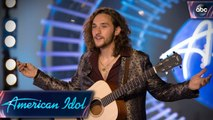 Brandon Diaz Performs Allen Stone's Unaware for His Idol Audition - American Idol 2018 on ABC