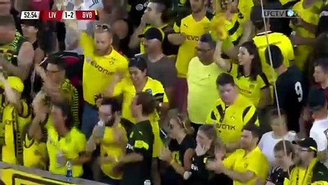 Thomas Delaney Goal - Liverpool 1 - 2 Borussia Dortmund (Full Replay)