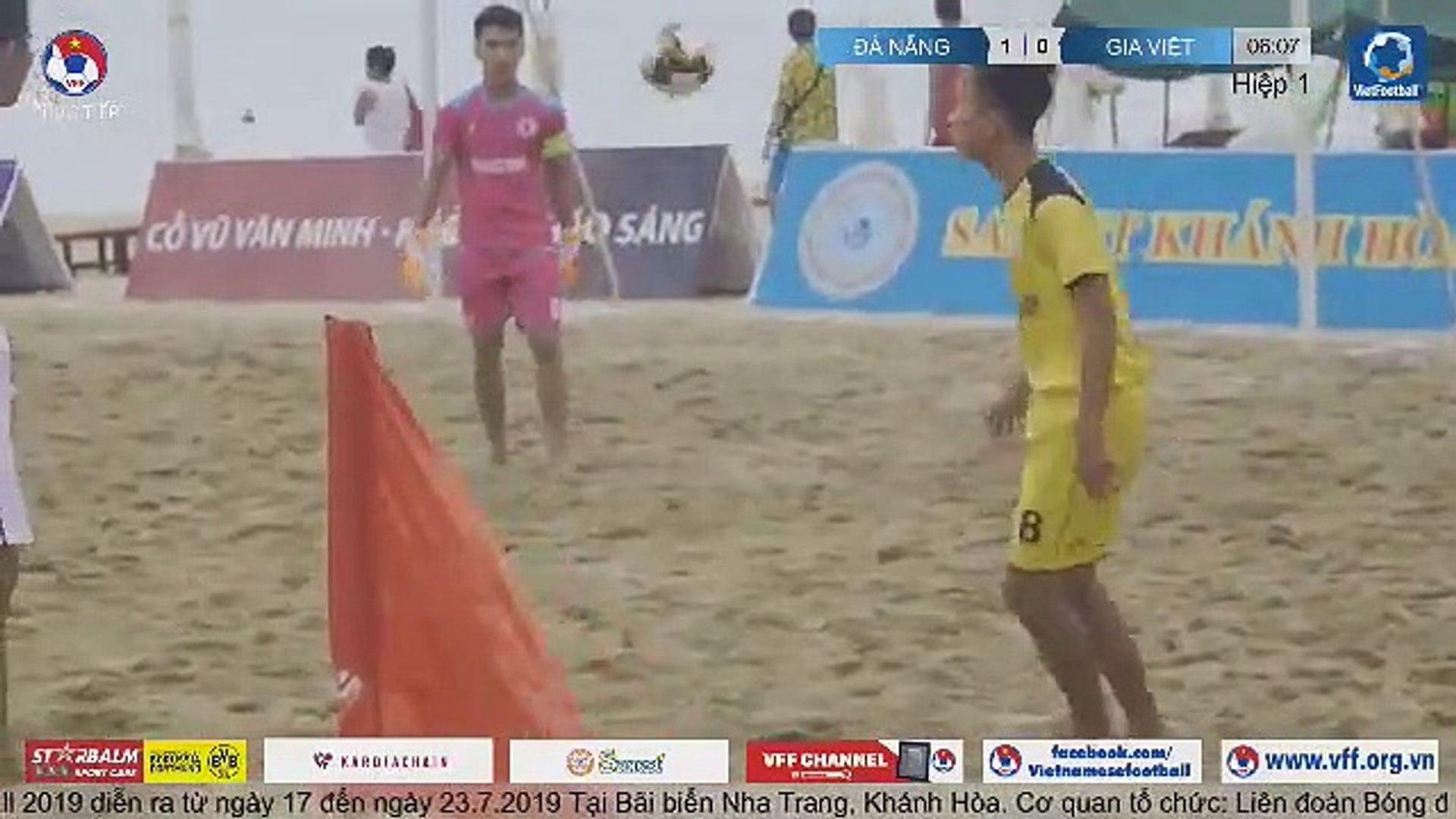 TRỰC TIẾP | Đà Nẵng - Gia Việt | Giải bóng đá Bãi biển Vô địch Quốc gia | VFF Channel