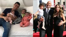 Cristiano Ronaldo's Wife and Kids vs The Rock's Wife and Kids ★ 2018