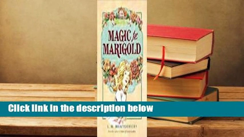 Full E-book  Magic for Marigold  For Kindle