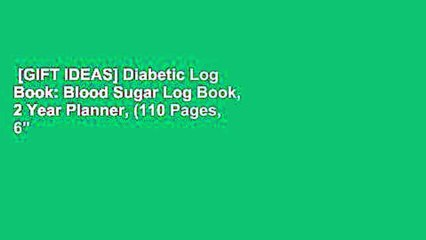 Gift Ideas Diabetic Log Book Blood Sugar Log Book 2 Year