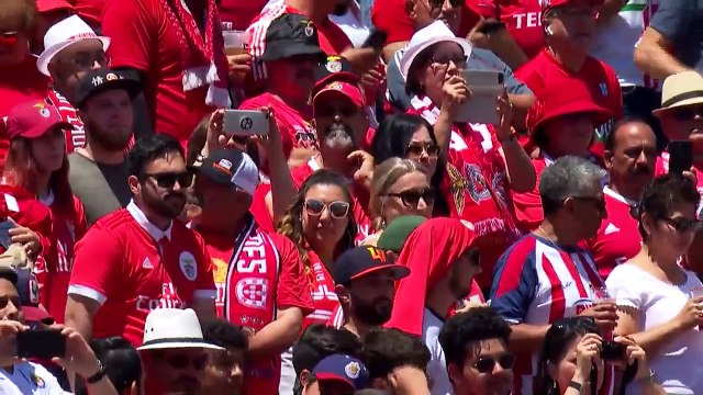 3-0 score flatters Benfica as they beat Chivas in ICC pre-season game