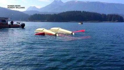Floatplane crash in Alaska leaves 1 dead and several injured