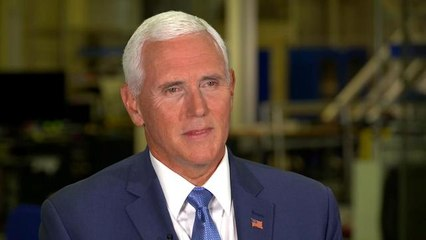 Pence talks Trump's plan to revive human exploration in space