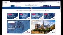 """Tutoriel fonctionnalités """"mon compte"""" du site de l'Assemblée nationale - Jeudi 18 juillet 2019"""