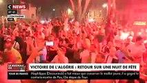 Près de 200 personnes interpellées cette nuit en France après la victoire de l'Algérie qui a provoqué quelques incidents dans plusieurs villes dont Paris, Bordeaux, Marseille