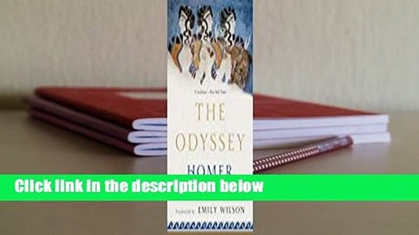 About For Books  The Odyssey Complete