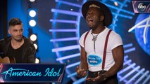 Les Greene Auditions for American Idol With Sam Cooke Song - American Idol 2018 on ABC