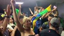 La fête à Nancy après le sacre de l'Algérie