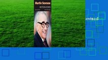 Full E-book Martin Scorsese: Interviews, Revised and Updated  For Online