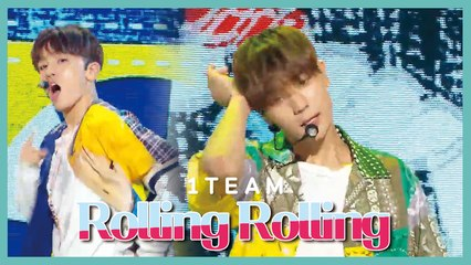[HOT] 1TEAM  - ROLLING ROLLING, 1TEAM - 롤링롤링 Show Music core 20190720
