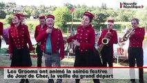 VIDEO. Saint-Georges-sur-Cher : les 18 radeaux prêts à prendre le départ de Jour de Cher