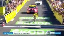 Tour de France : Alaphilippe, neuvième jour en jaune