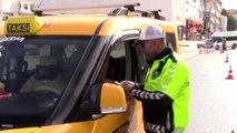 81 ilde taksi denetimi Bin 551 taksi şoförüne para cezası
