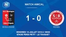 Résumé match amical USBCO - Reims