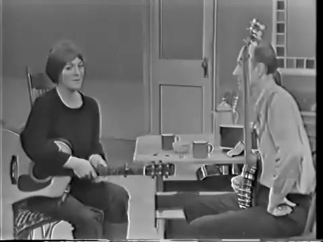 Judy Collins & Pete Seeger - Will you go Lassie go 1966