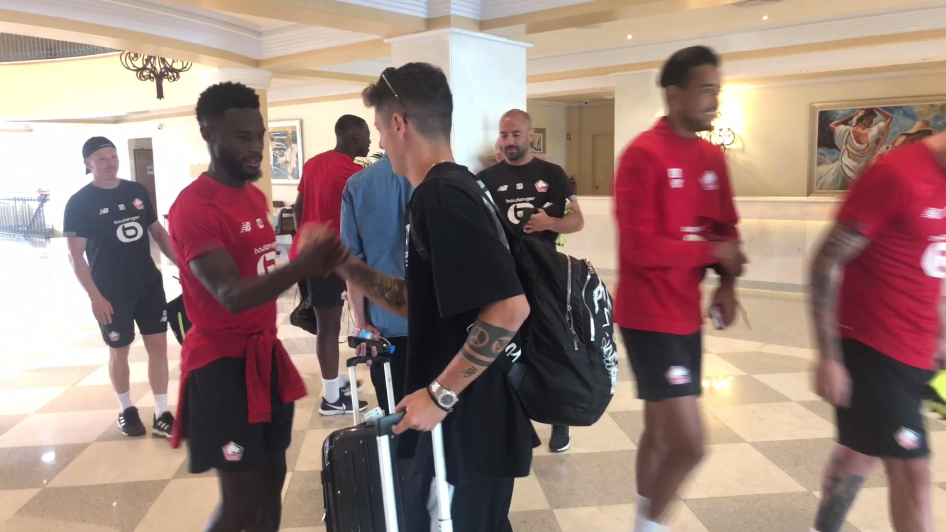 Domagoj Bradarić déjà en compagnie de ses nouveaux coéquipiers au Portugal