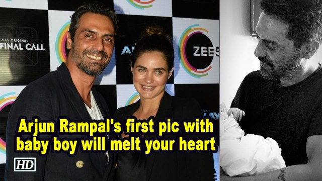 Arjun Rampal's pic with baby boy will melt your heart