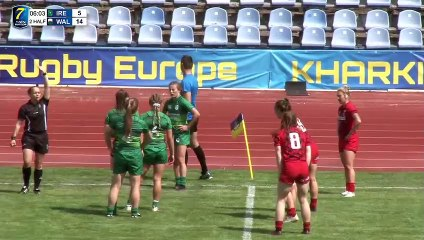 REPLAY DAY1 - ROUND 2 RUGBY EUROPE WOMEN SEVENS GRAND PRIX SERIES 2019 - KHARKIV (2)