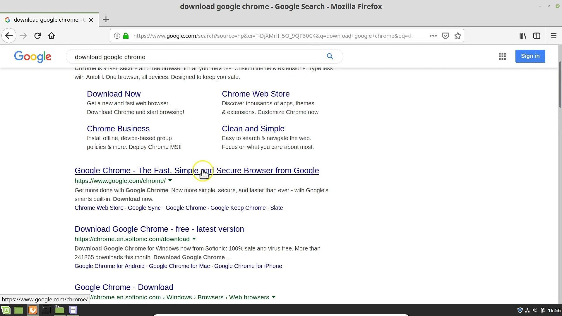 How to Install Google Chrome On Linux Mint 19 1 Cinnamon?