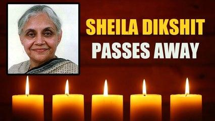 Sheila Dikshit, Former Delhi CM, Passes Away