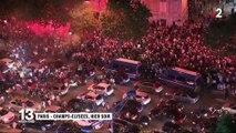 CAN : les Algériens de France à la fête, quelques incidents en fin de soirée