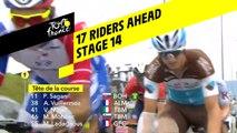 14 coureurs devant / 14 riders ahead - Étape 14 / Stage 14 - Tour de France 2019