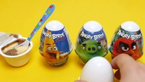 Angry Birds Eggs with Surprise Toys & Dessert - KidsWorld