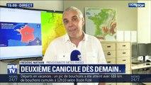 """Frédéric Nathan, prévisionniste de Météo France: """"En ce qui concerne la chaleur, c'est une année qui a l'air exceptionnelle"""""""
