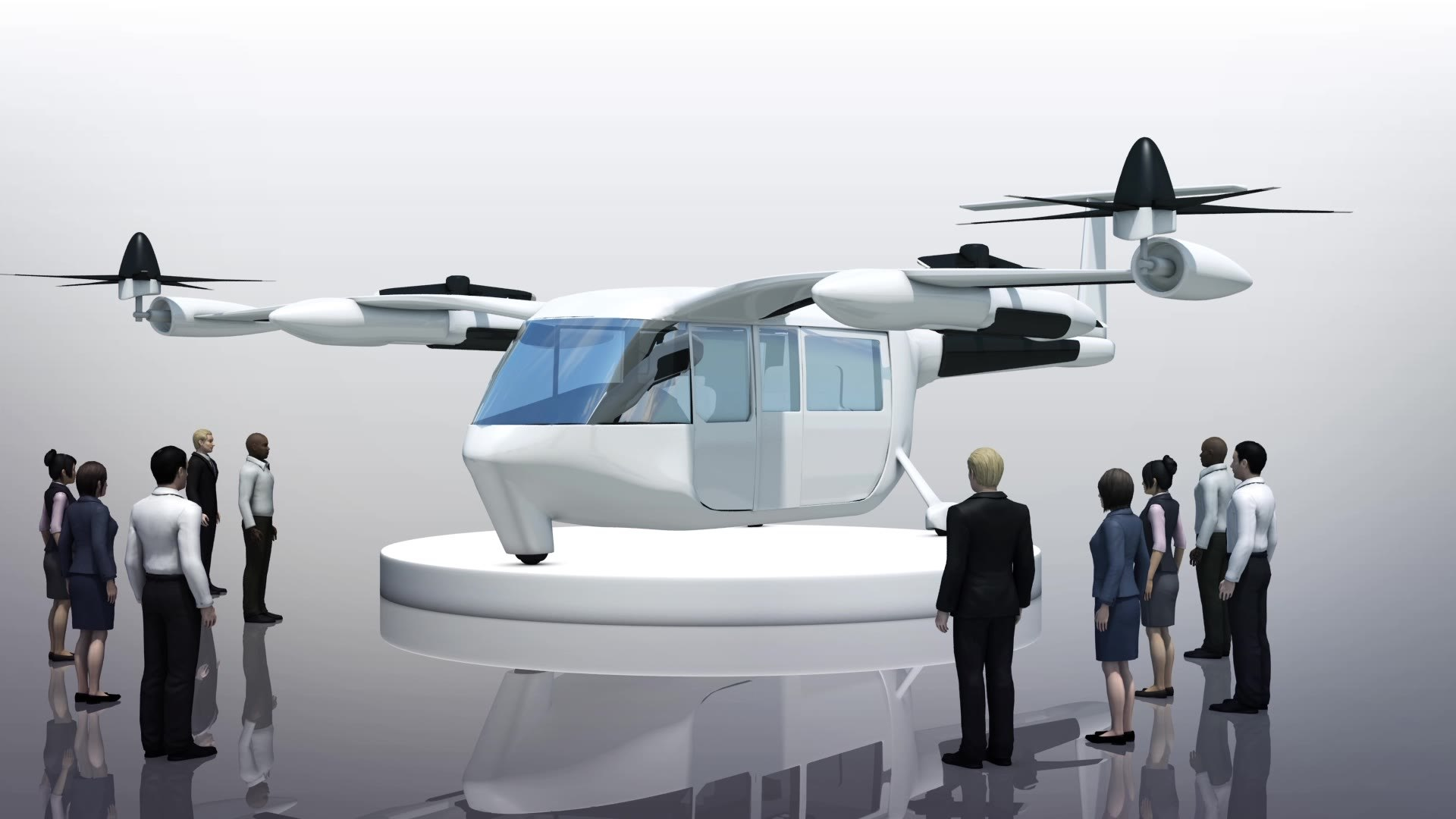 Uber unveils first looks at flying taxi, Uber Air