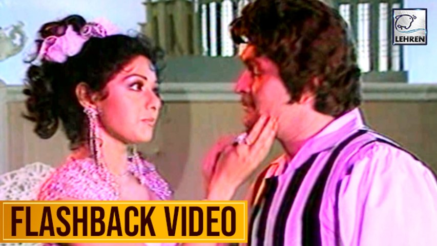 Sridevi & Rishi Kapoor's Dance Practice Video From The Movie Garajna