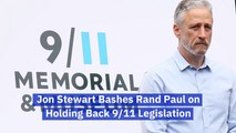 Jon Stewart Has Choice Words For Senator Rand Paul
