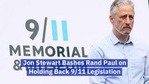 Jon Stewart Has Choice Words For Senator Rand Paul