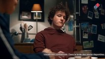 ecran pub netflix / casa de papel  / Domino's pizza