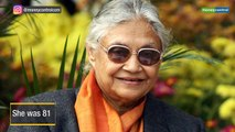 Sheila Dikshit passes away: Veteran Congress leader and 3-time Delhi Chief Minister who championed women's welfare
