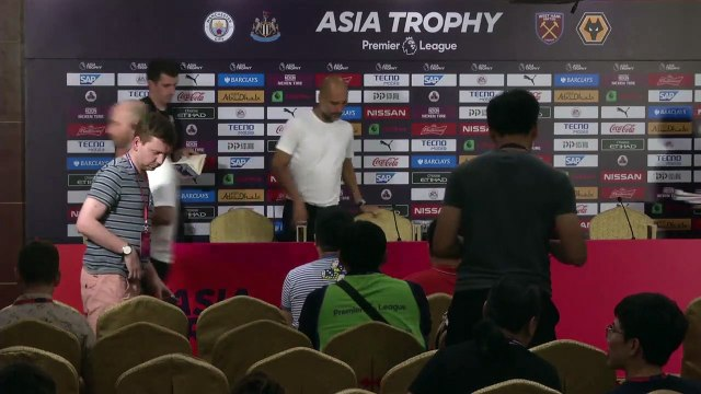 Reaction after Wolves beat Man City on penalties in the Premier League Asia Trophy final