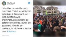 Mort d'Adama Traoré : Appel à une convergence avec les Gilets jaunes au départ de la marche