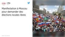 Russie. 20000 manifestants à Moscou pour réclamer des élections locales libres