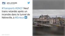 Incendie dans un tunnel : Gros retards des trains entre Paris et la Normandie, ce samedi