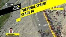Le sprint final / The final sprint - Étape 14 / Stage 14 - Tour de France 2019