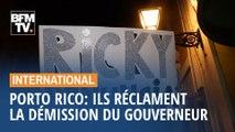 Porto Rico: des manifestants réclament la démission du gouverneur empêtré dans un scandale politique