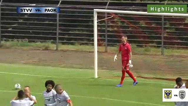 STVV 0-4 PAOK- Full Highlights 20.07.2019