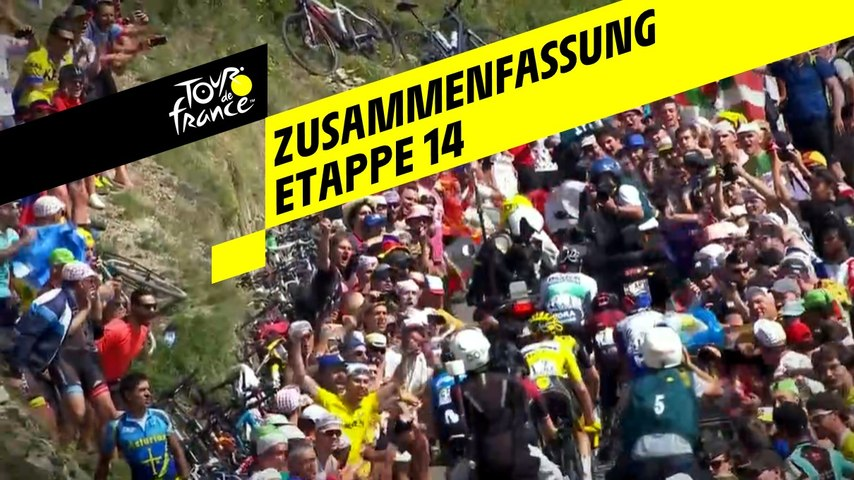 Zusammenfassung - Etappe 14 - Tour de France 2019
