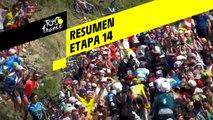 Resumen - Etapa 14 - Tour de France 2019