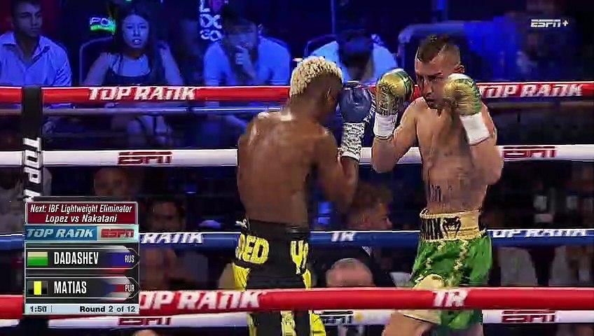 Maxim Dadashev vs Subriel Matias (19-07-2019) Full Fight